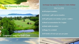 Danang Summer Golf Promotion 4D3N 3R